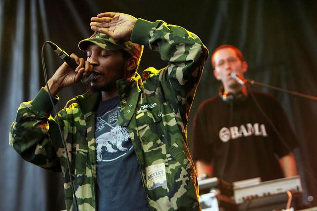 Del the Funky Homosapien at San Diego Street Scene 2008
