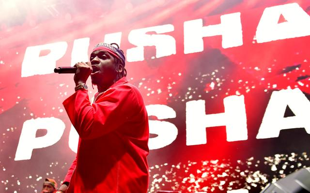 Pusha T at adidas Creates 747 Warehouse St. in Los Angeles