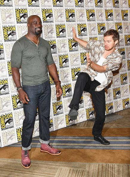 Mike Colter & Finn Jones