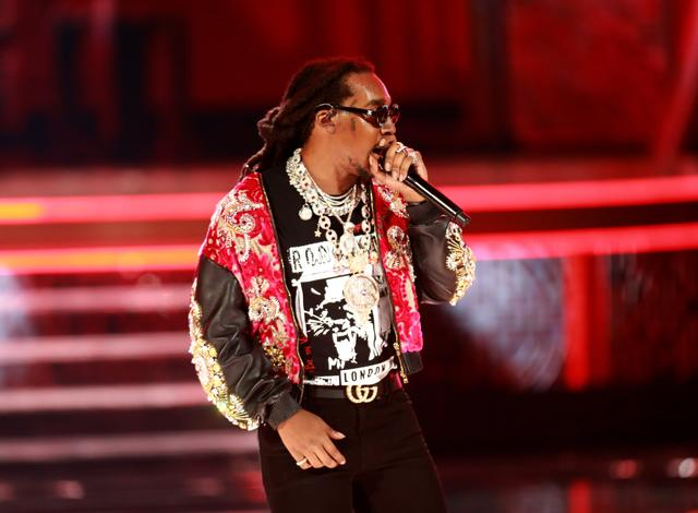 Takeoff at the 2018 BET Awards