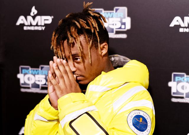 Rapper Juice Wrld attends Power105.1's Powerhouse 2018 at Prudential Center on October 28, 2018 in Newark, New Jersey.
