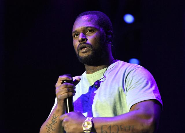 ScHoolboy Q performs on Camp Stage during day two of Tyler, the Creator's 5th Annual Camp Flog Gnaw Carnival at Exposition Park on November 13, 2016 in Los Angeles, California.