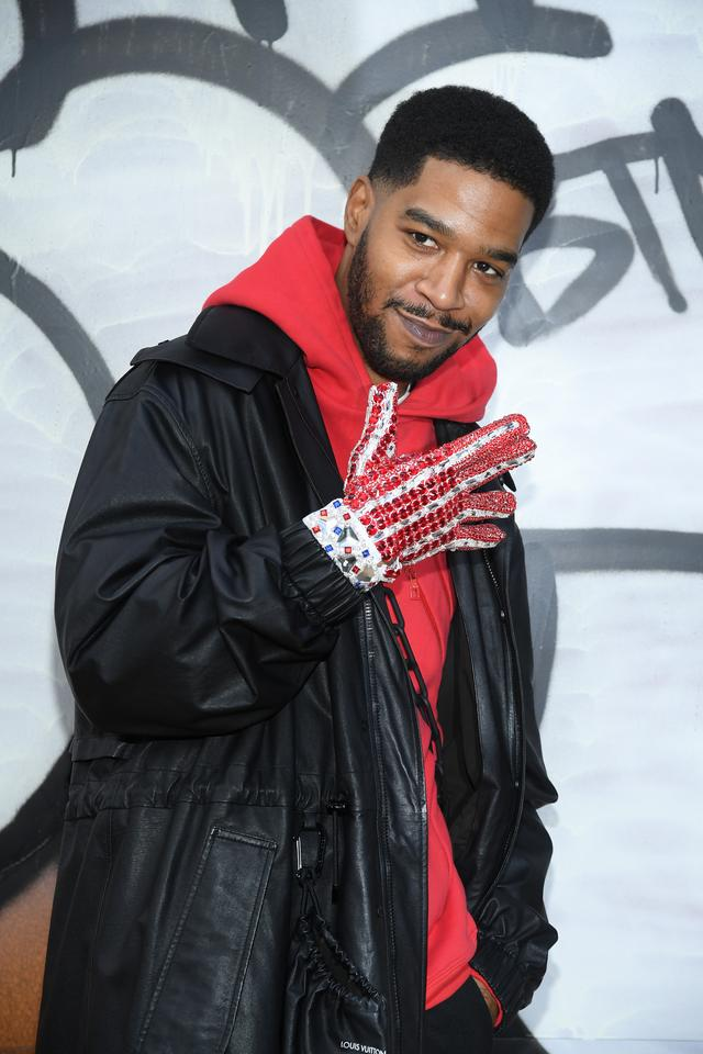 Kid Cudi at Paris Fashion Week 2019