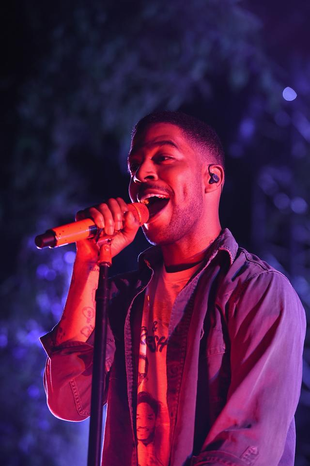 Kid Cudi at Camp Flog Gnaw