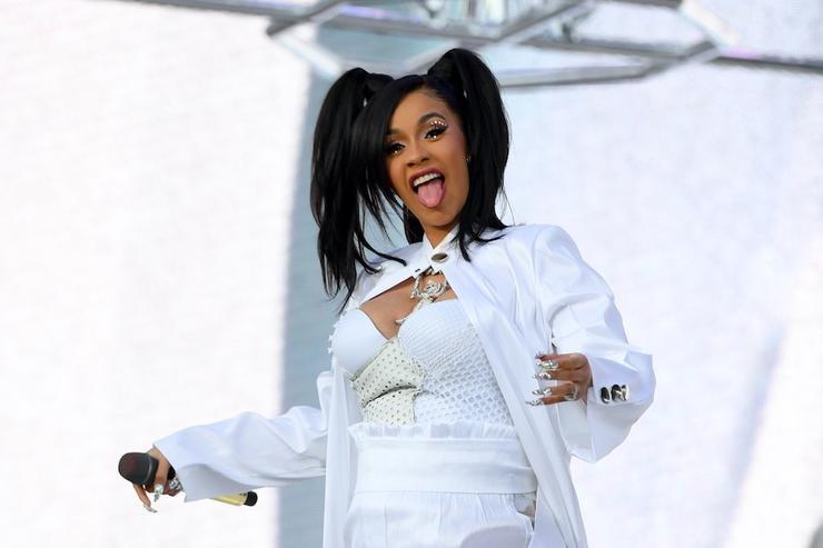 Cardi B's 'I Like It' Tops Billboard Hot 100