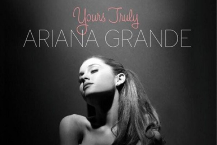 "Ariana Grande Reveals ""Yours Truly"" Album Cover & Track ..."