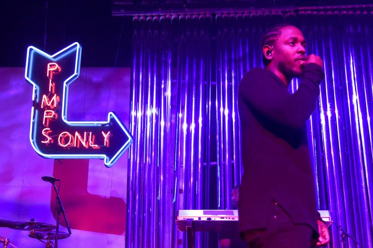 Kendrick Lamar Performs At Fox Theater