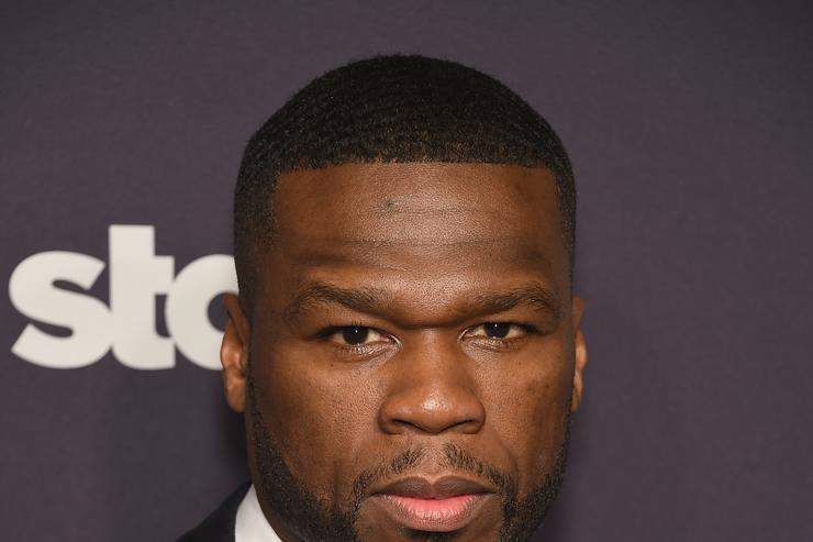 50 Cent at season 2 premiere of 'power'