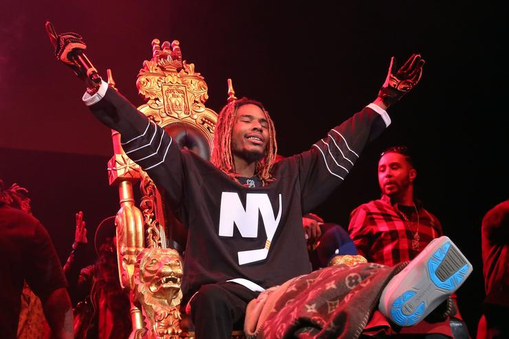 Fetty Wap Throne Powerhouse Concert at Barclays Center