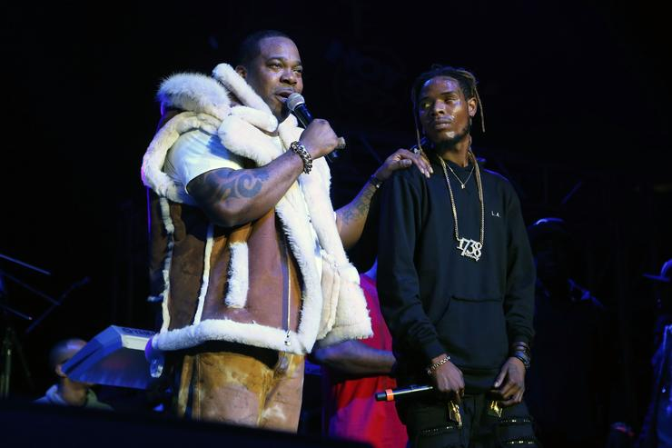 Busta Rhymes and Fetty Wap at HOT 97's Hot For The Holidays Concert