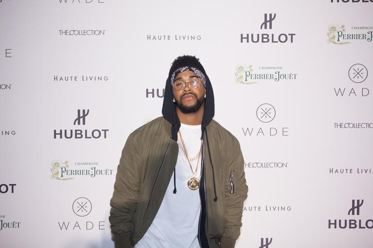 Omarion At Art Basel