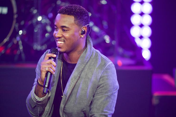 Jeremih at iHeartRadio Theater Los Angele