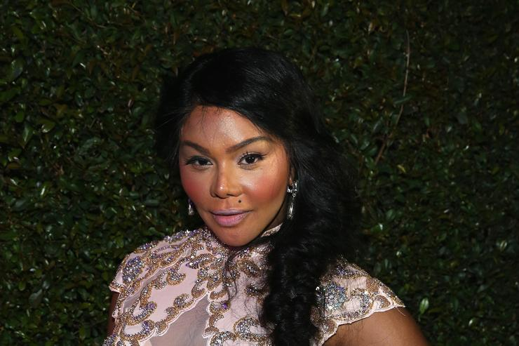 lil kim at a roc nation event