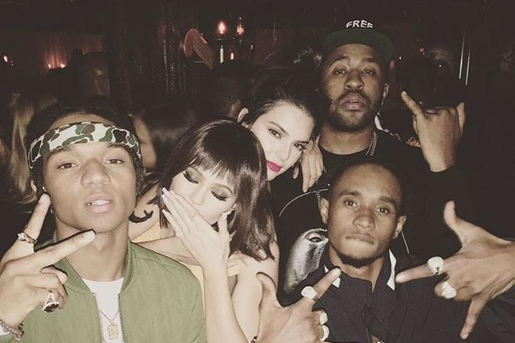Rae Sremmurd with Mike WiLL Made It, Kylie Jenner & Kendall Jenner