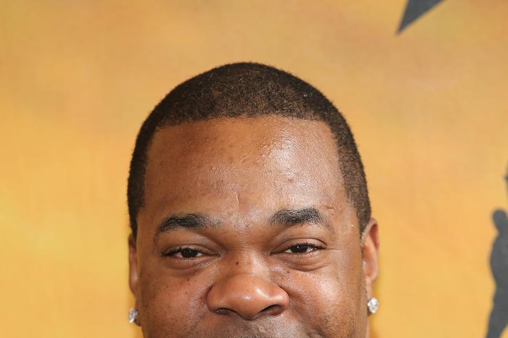 busta rhymes on the red carpet