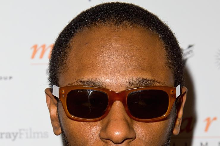 Yasiin Bey at the 68th Annual Cannes Film Festival.