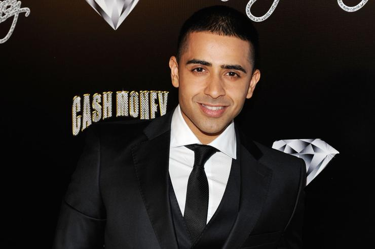 Rapper Jay Sean arrives at the Cash Money Records Annual Pre-Grammy Awards Party at The Lot on February 12, 2011 in West Hollywood, California.