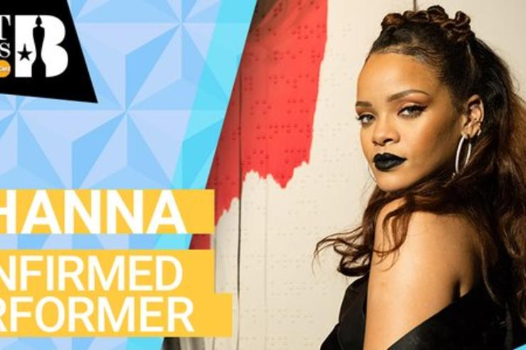 Rihanna's ad for 2016 Brit Awards