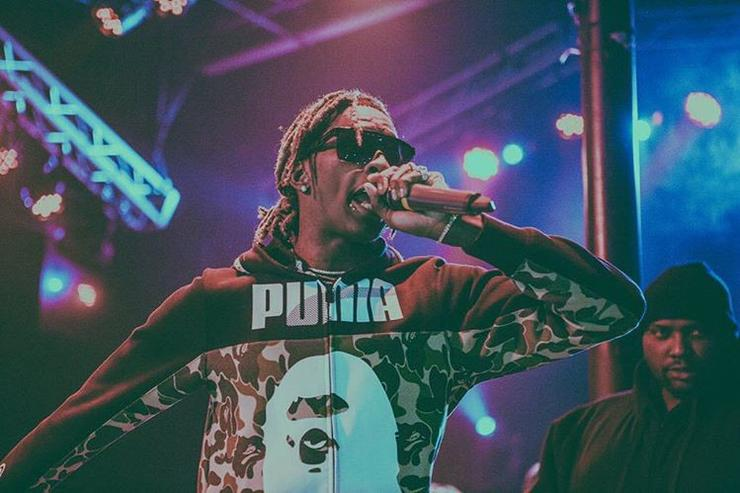 Young Thug performing live