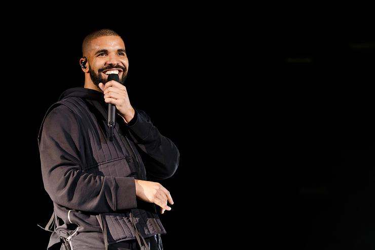 Drake performs onstage during Day 2 of Squamish Valley Music Festival