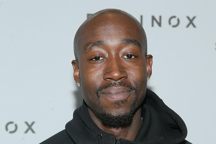 Freddie Gibbs at equinox celebrity basketball event
