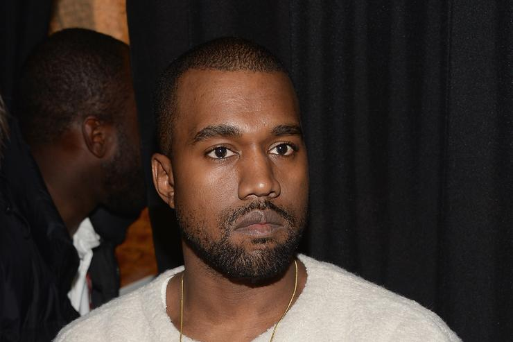 Kanye West attends the 'River Of Fundament' world premiere at BAM Harvey Theater