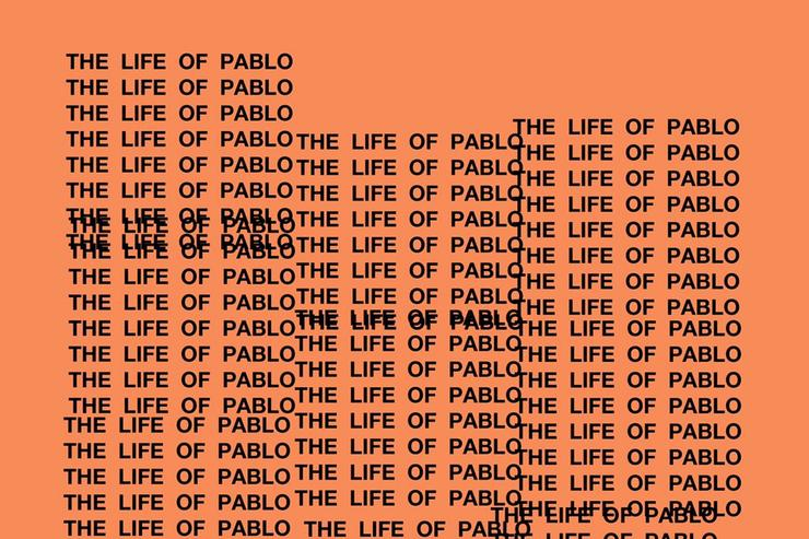 """The life of pablo"" cover art"