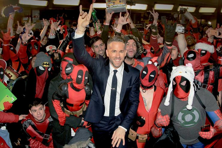 Ryan Gosling and Deadpool fans