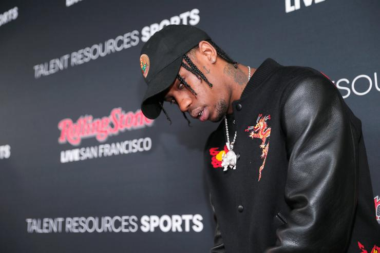 Travis Scott at Rolling Stone event