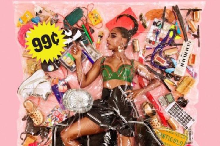 "Santigold's ""99 Cents"" album cover"