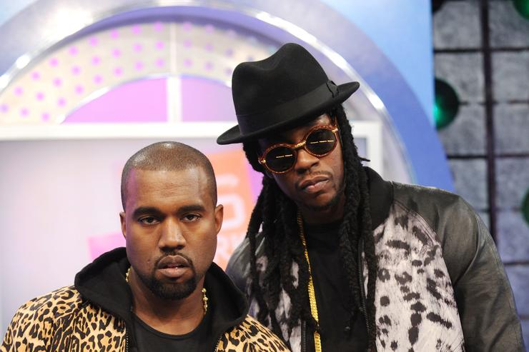 Kanye West & 2 Chainz at 106 & Park.