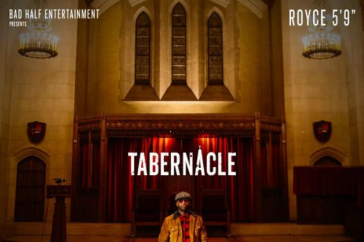 "Single artwork for ""Tabernacle"""