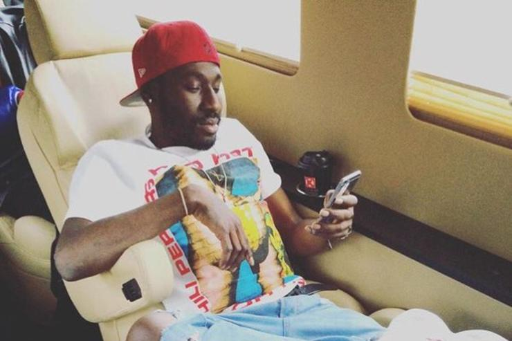 Bankroll Fresh on private jet