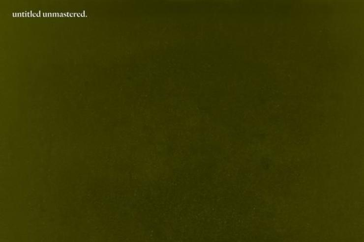 """Kendrick Lamar's """"untitled unmastered"""" cover"""