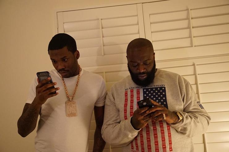 Meek Mill & Rick Ross together on house arrest in Philly