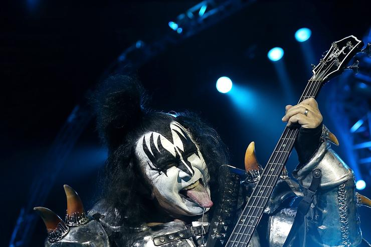 Kiss bassist Gene Simmons