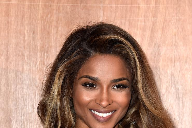 Ciara attends the Givenchy show as part of the Paris Fashion Week Womenswear Fall/Winter 2016/2017 on March 6, 2016 in Paris, France. (Photo by Pascal Le Segretain/Getty Images)
