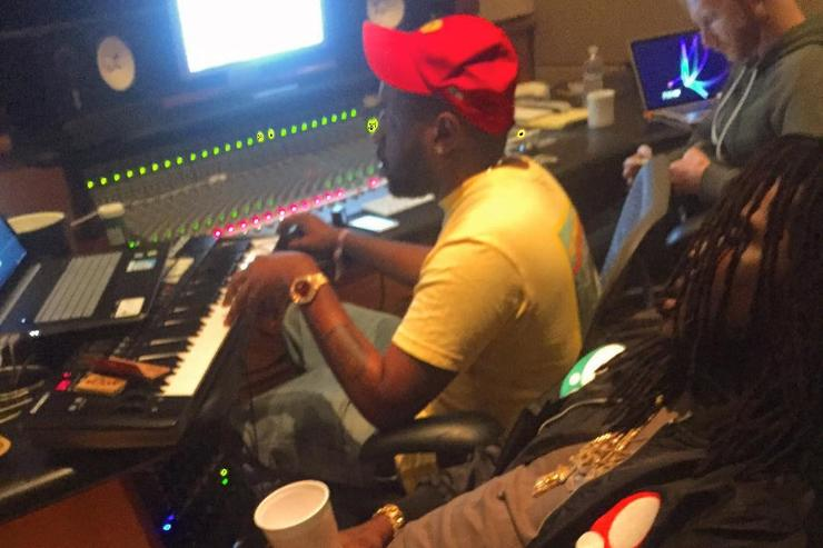 Chief Keef and Mike WiLL Made It in the studio