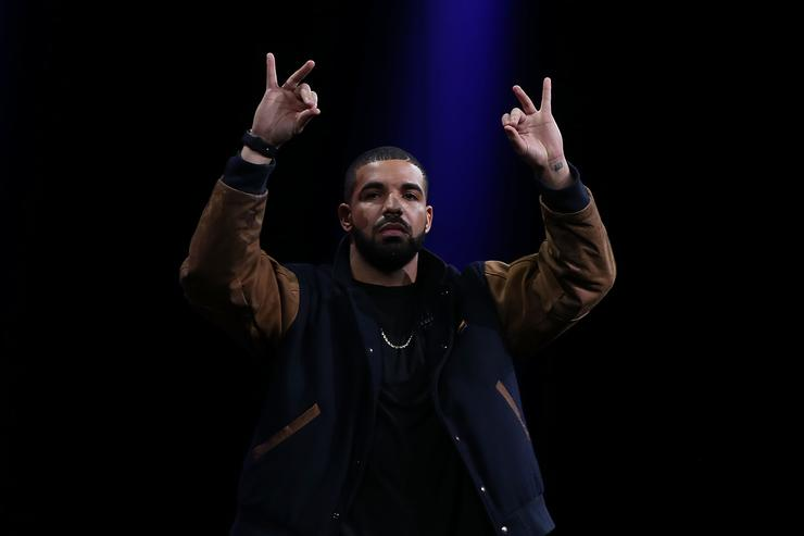 Recording artist Drake speaks about Apple Music during the Apple WWDC on June 8 2015 in San Francisco California Apple annouced a new OS X El Capitan