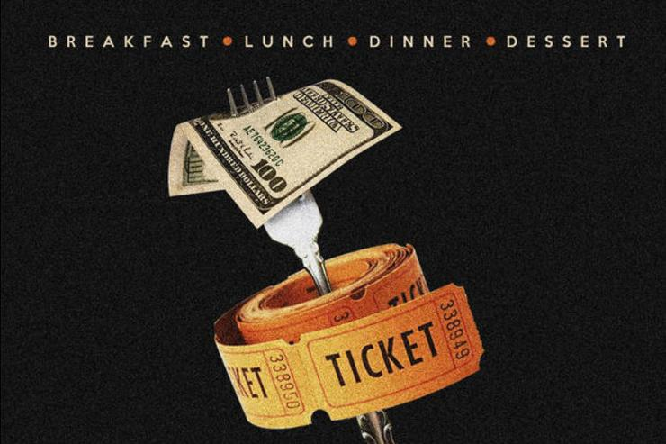 Gucci Mane 'Meal Ticket' cover art