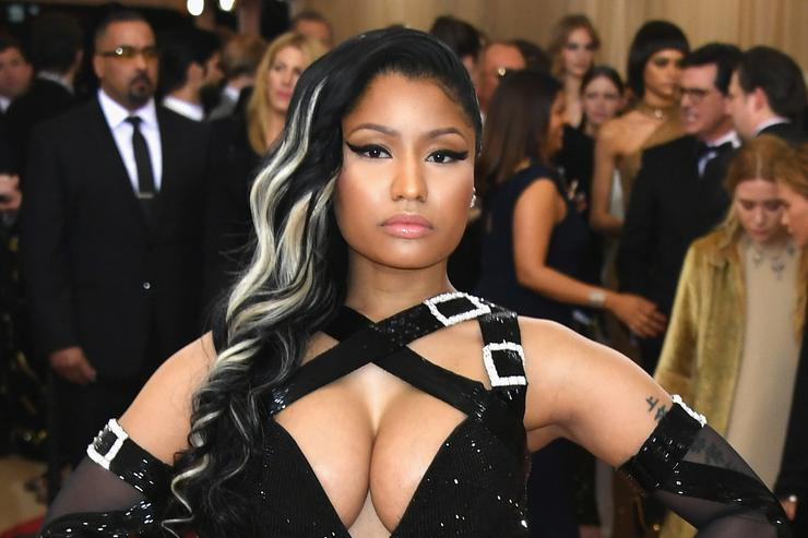Nicki Minaj at Met Gala 2016