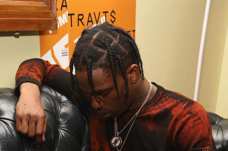 Travis Scott at a Tumblr IRL event