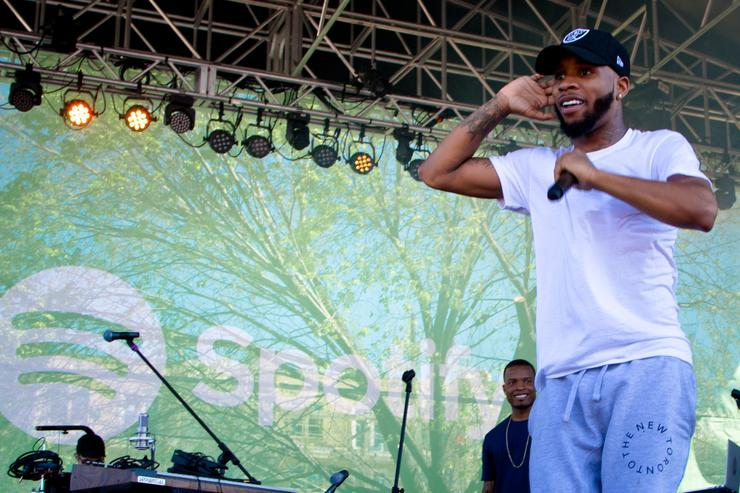 ry Lanez performs at the Spotify House, SXSW 2016, on March 14, 2016 in Austin, Texas.