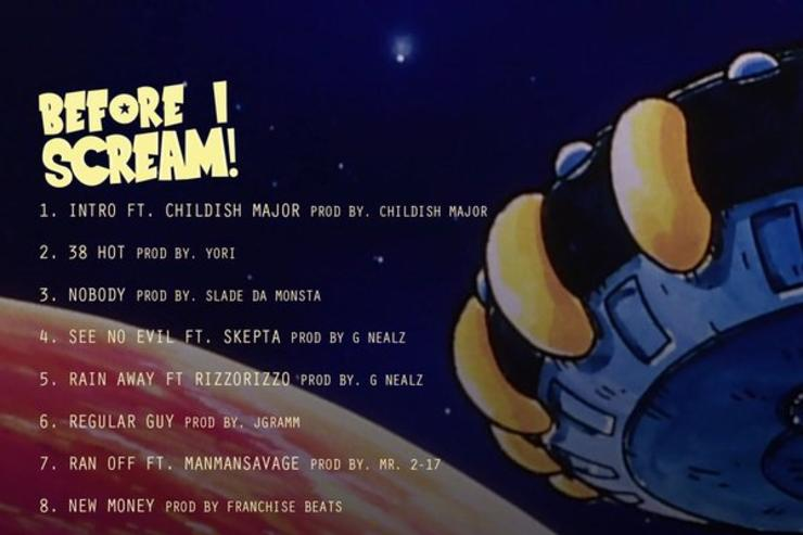 "tracklist for Key!'s ""Before I Scream"""