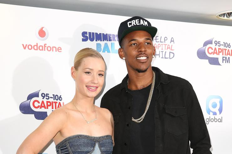 Iggy Azalea and Nick Young 2014