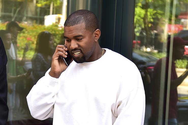 Kanye West out in L.A.