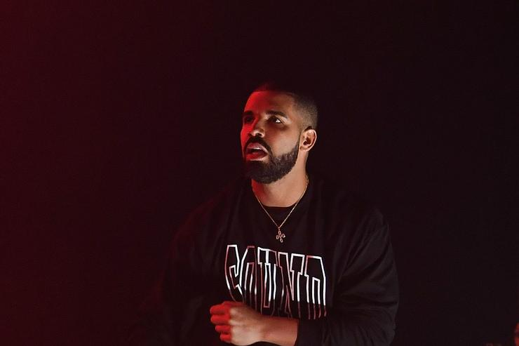 Drake at Gucci Mane homecoming show in ATL