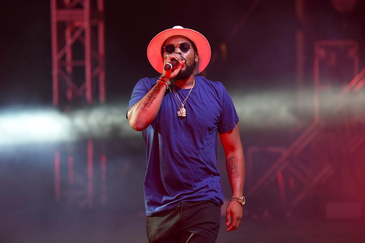ScHoolboy Q performing at Panorama