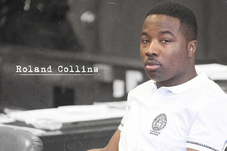 """Troy Ave album cover for """"Roland Collins"""""""