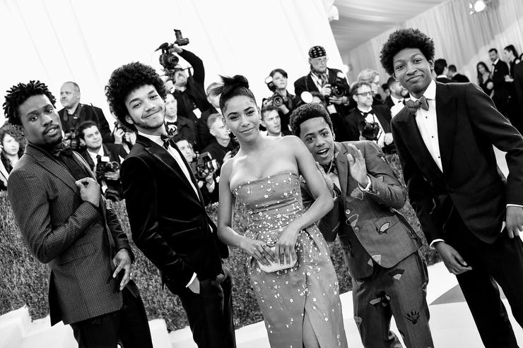 "The cast of ""The Get Down"""
